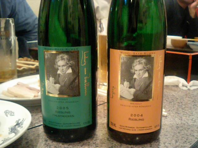 ベートーベンのワイン